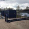 Lastväxlarram med iso container lås